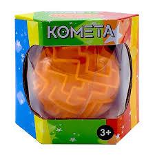 Головоломка Комета-лабиринт Kakadu оранжевая средн