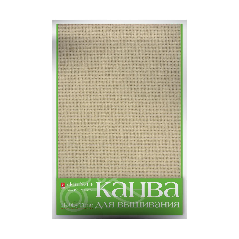 Творч Канва для вышивания натуральная 30х40см №14