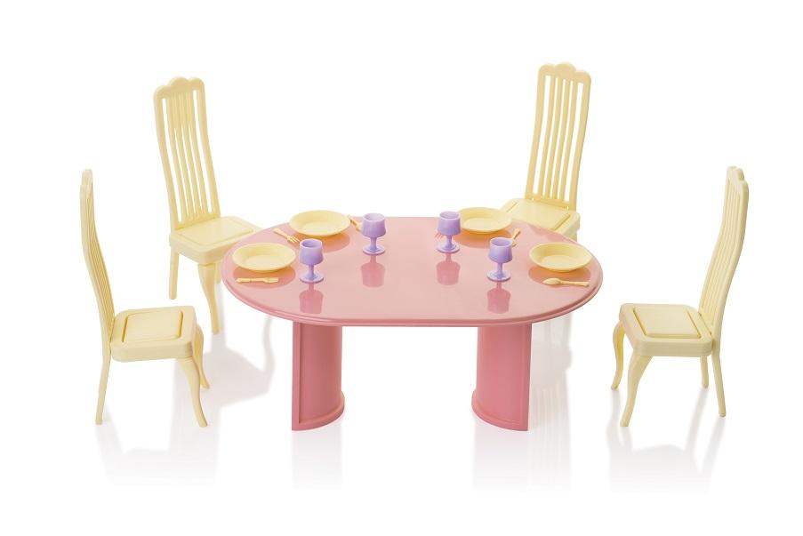 Набор мебели д/кукол Столовая Маленькая принцесса